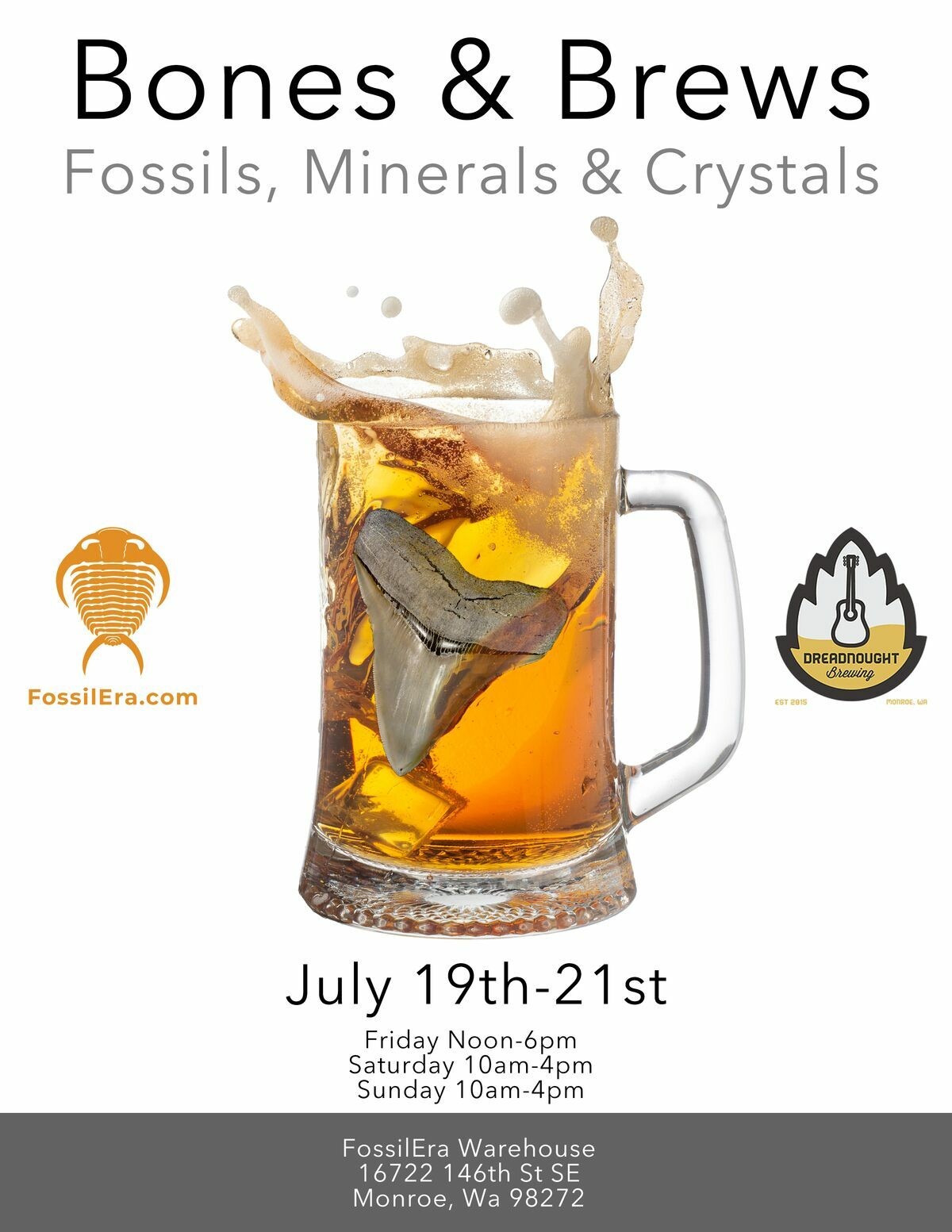 FossilEra - Bones & Brews Event