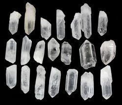 "Quartz Crystal Points (2-3"" size) - 1 KG Bag"