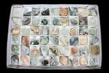 Mixed Indian Mineral & Crystal Flats - 54 Pieces (Reduced Price) - Photo 3