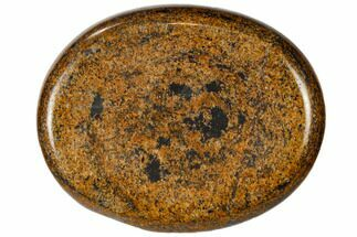 "2"" Polished Bronzite Worry Stone"