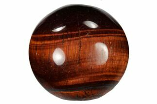 "1.2"" Polished Red Tiger's Eye Sphere"