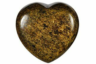 "1.6"" Polished Bronzite Heart"