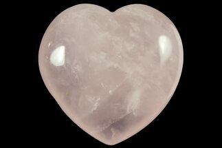 "1.6"" Polished Rose Quartz Heart"