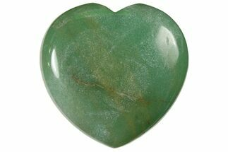 "1.6"" Polished Green Aventurine Heart"