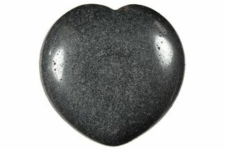 "1.6"" Polished Hematite Hearts"