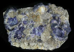 "5.59"" Fluorite and Quartz, Fujian Province, China For Sale, #31586"