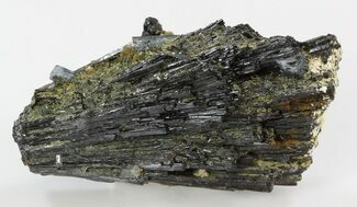 Aquamarine Crystals on Black Tourmaline (Schorl) - Namibia For Sale, #31880