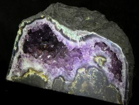 "Buy 13"" Dark Amethyst Geode From Brazil - 26 lbs - #34438"