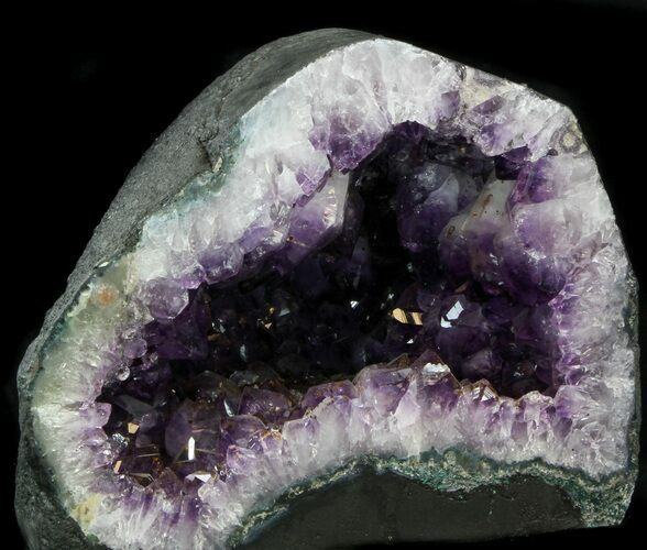 "12.7"" Dark Amethyst Geode From Brazil (60 lbs) - FREE US SHIPPING"