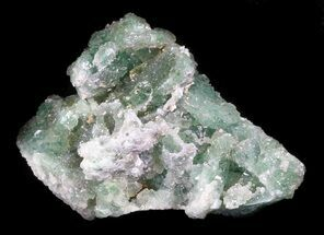 "1.8"" Green Fluorite & Druzy Quartz - Colorado For Sale, #33377"