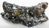 "3.9"" Calcite, Dolomite, Pyrite, and Quartz association - Lowville, NY - #37817-3"