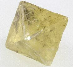 "Buy .73"" Yellow, Cleaved Fluorite Octahedron - Illinois - #37831"