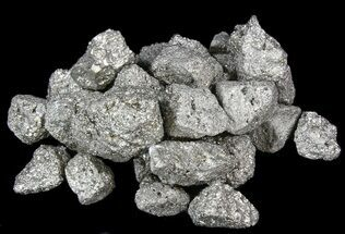 Bulk Pyrite Chunks - 8oz. (~ 8pc.) For Sale, #41855