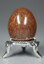 "Agatized Dinosaur Bone ""Egg"" - Stunning! For Sale, #4275"