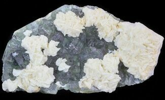 Dolomite, Fluorite & Pyrite - Fossils For Sale - #44658