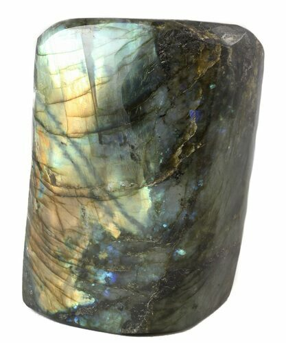 "4.8"" Flashy Polished Free Form Labradorite"