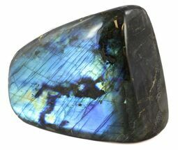 "4.4"" Flashy Polished Free Form Labradorite For Sale, #45188"