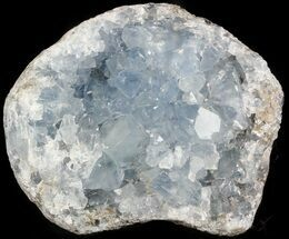 "4.8"" Celestite Crystal Cluster Cluster - Madagascar For Sale, #45644"