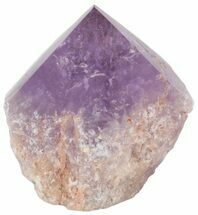"Buy 3.0"" Polished Amethyst Crystal Point - Brazil - #46054"