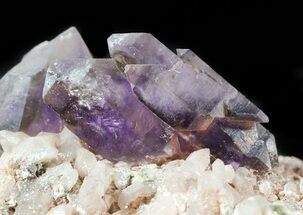 Smoky Amethyst Crystal Cluster on Matrix - Namibia For Sale, #46034