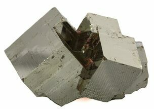 "1.8"" Cubic Pyrite Cluster With Quartz Crystals - Peru  For Sale, #46094"