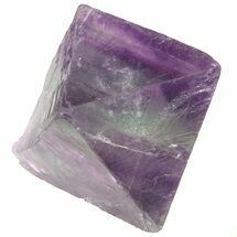 "1.71"" Fluorite Octahedral Crystal - Purple/Translucent For Sale, #48263"
