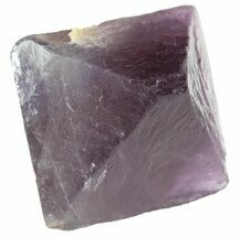 "Buy 1.61"" Fluorite Octahedron - Purple/Green - #48436"