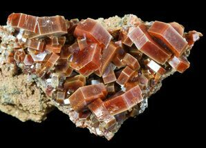 "2.3"" Large, Ruby Red Vanadinite Crystals - Morocco For Sale, #51284"