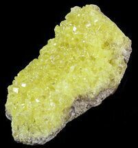 "3.8"" Sulfur Crystals on Matrix - Bolivia For Sale, #51575"