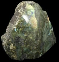"Buy 12.5"" Flashy Labradorite Piece (One Side Polished) - 22 lbs - #51829"