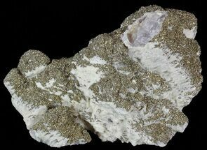 Calcite, Pyrite and Fluorite  - Fossils For Sale - #51849