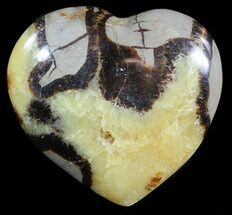 "3.5"" Polished Septarian ""Heart""  For Sale, #54701"
