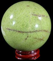 "Buy 2.7"" Polished Green Opal Sphere - Madagascar - #55069"