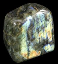 "Buy 3.1"" Tall, Flashy Polished Free Form Labradorite - #54859"