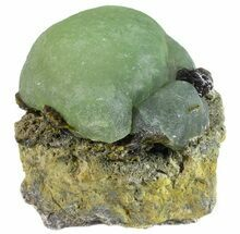 "2.5"" Globular Prehnite with Epidote - Mali For Sale, #56105"