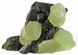 Prehnite & Epidote - Fossils For Sale - #56106