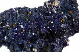"2.2"" Sparkling Azurite Crystal Cluster - Laos - #56057-2"