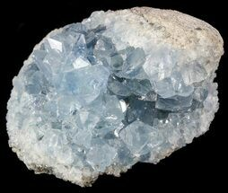 "Buy 2.3"" Sky Blue Celestite Crystal Cluster - Madagascar - #54844"