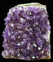 Quartz var. Amethyst - Fossils For Sale - #58140