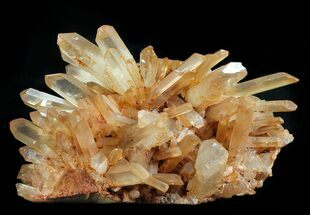 "Buy Large, 10.2"" Tangerine Quartz Crystal Cluster - Madagascar - #58768"