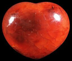 "Buy 2.5"" Colorful Carnelian Agate Heart - #59554"