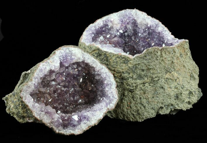 "9"" Two Piece Amethyst Geode - Morocco"
