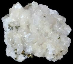 "3"" Calcite and Pyrite Crystal Association - Morocco For Sale, #61433"
