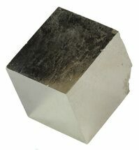 ".98"" Pyrite Cube - Navajun, Spain For Sale, #60926"