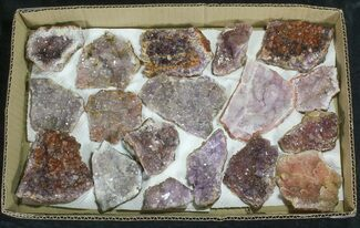 Buy Morocco Amethyst (Wholesale Flat) - 18 Pieces - #62059