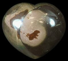 "3.6"" Polychrome Jasper Heart - Madagascar For Sale, #62510"