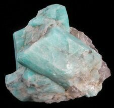 Microcline var. Amazonite - Fossils For Sale - #61371