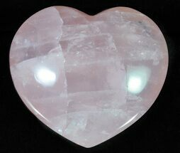 "2.7"" Polished Rose Quartz Heart - Madagascar For Sale, #63020"