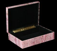 "Buy 7.8"" Wide Rhodochrosite Jewelry Box - Stunning - #63484"