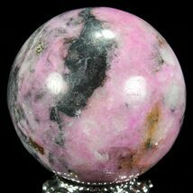 "1.75"" Polished Cobaltoan Calcite Sphere - Congo For Sale, #63887"